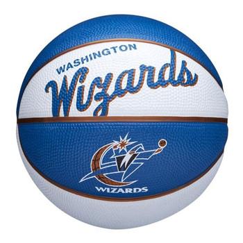 WILSON washington wizards NBA retro mini basketball [white/blue]