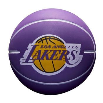 WILSON Los AngelesLlakers NBA team super mini dribbler basketball [purple]