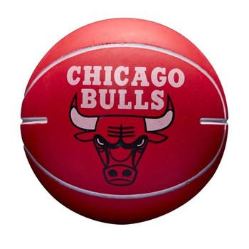 WILSON chicago bulls NBA team mini dribbler basketball [red]