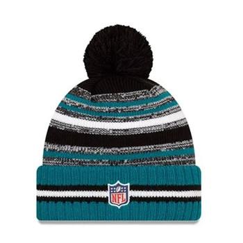 NEW ERA Jacksonville Jaguars NFL sideline sport knit bobble hat [black/green]