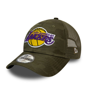 NEW ERA los angeles lakers NBA home field 9forty cap [camo]