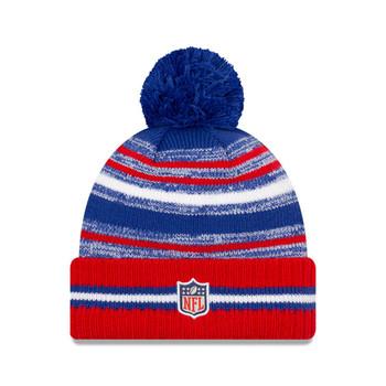 NEW ERA Buffalo Bills NFL sideline sport knit bobble hat [blue/red]
