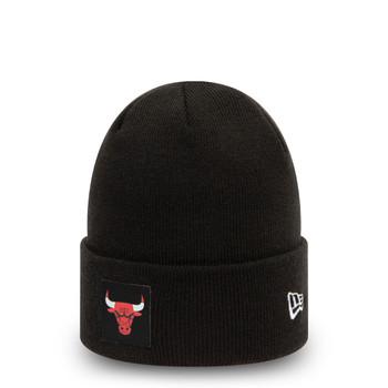 NEW ERA Chicago Bulls Cuff Bobble Beanie hat [black]