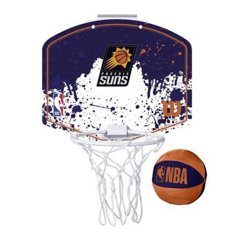 WILSON phoenix suns NBA mini team hoop set [navy/white]