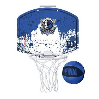 WILSON dallas mavericks NBA mini team hoop set [blue/white]