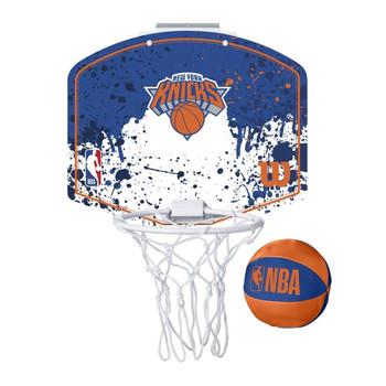 WILSON new york knicks NBA mini team hoop set [blue/white/orange]