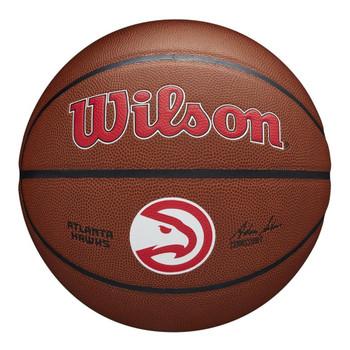 WILSON Team Alliance NBA Basketball atlanta hawks [brown]