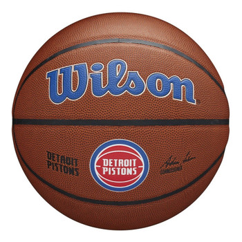 WILSON Team Alliance NBA Basketball Detroit Pistons [brown]