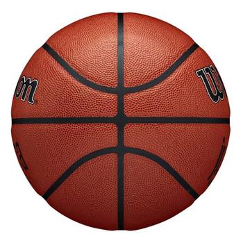 WILSON Junior NBA authentic indoor/outdoor basketball - Size 7 [brown]