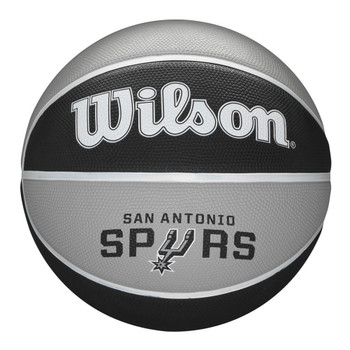 WILSON San Antonio Spurs NBA team tribute basketball [silver/black]