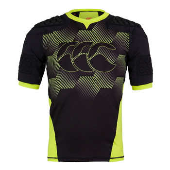 CCC vapodri raze flex vest rugby body armor senior [black/green]