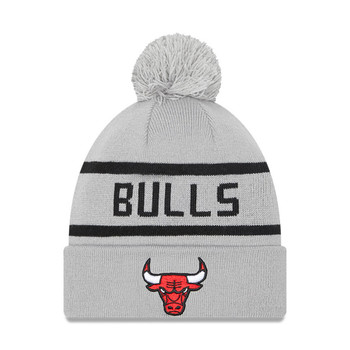 NEW ERA Chicago Bulls Bobble Beanie hat [grey]