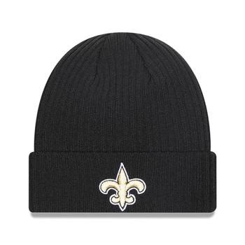 NEW ERA New Orleans Saints NFL team logo cuff beanie hat [black/gold]