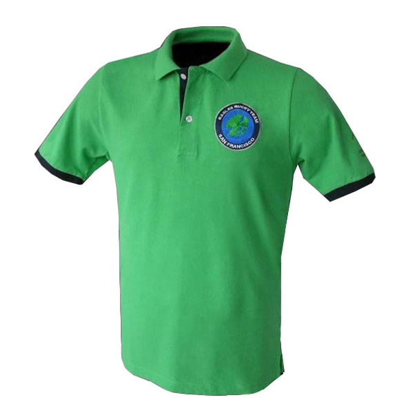 Mud and Glory Eagles PQ Rugby Polo Shirt
