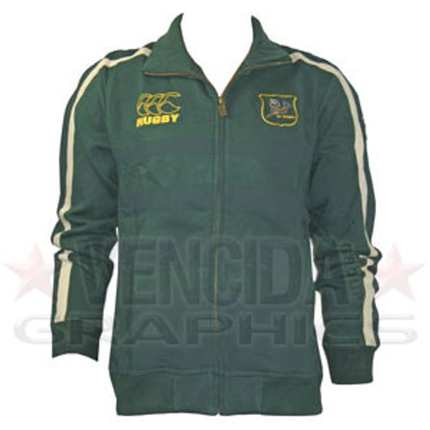 CCC south africa off field rugby full zip sweatshirt 09/10