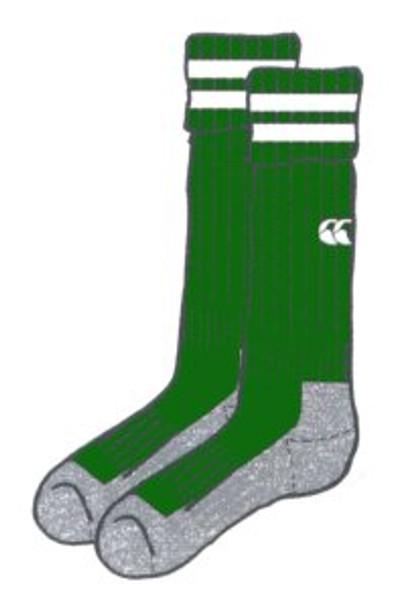 CCC performance socks [bottle green]