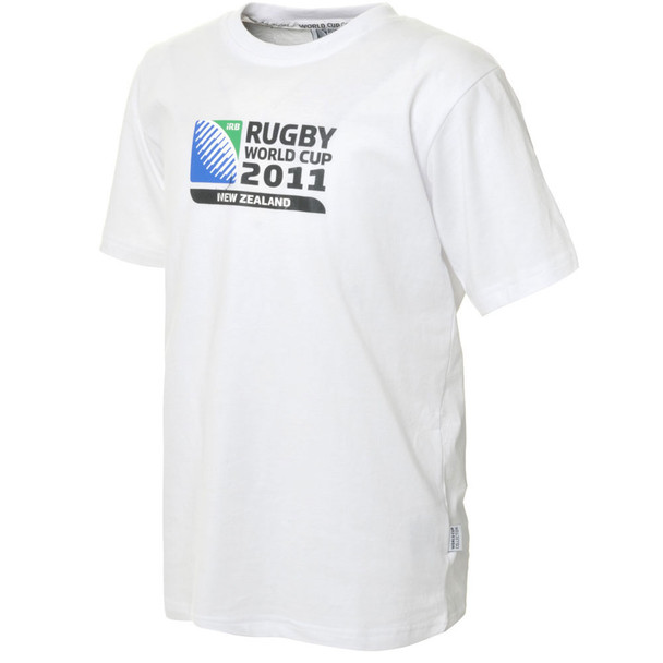 CCC Rugby World Cup 2011 Logo T-Shirt Junior [white]
