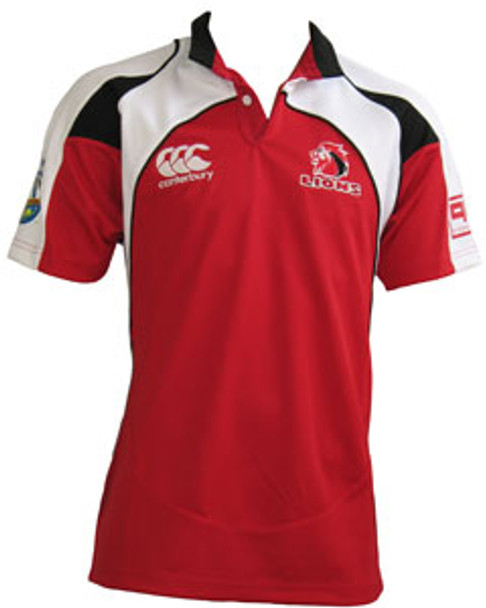 CCC johannesburg lions home rugby shirt [red]