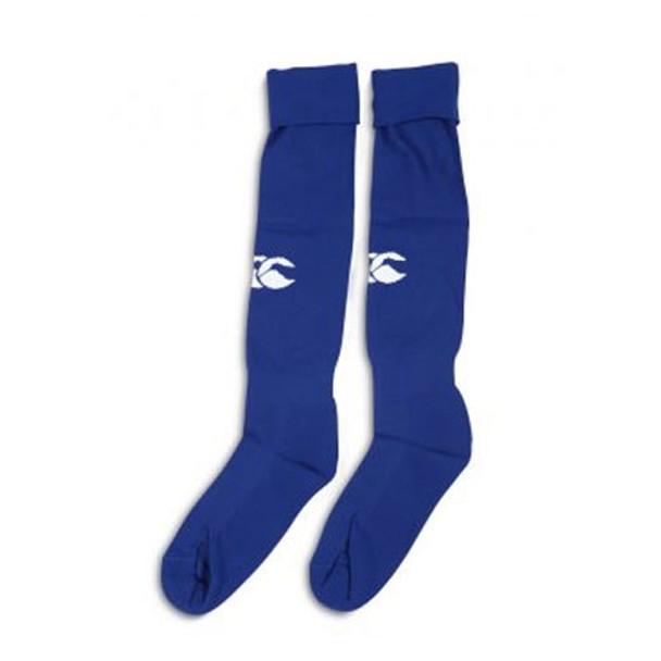 CCC plain logo rugby socks [royal]