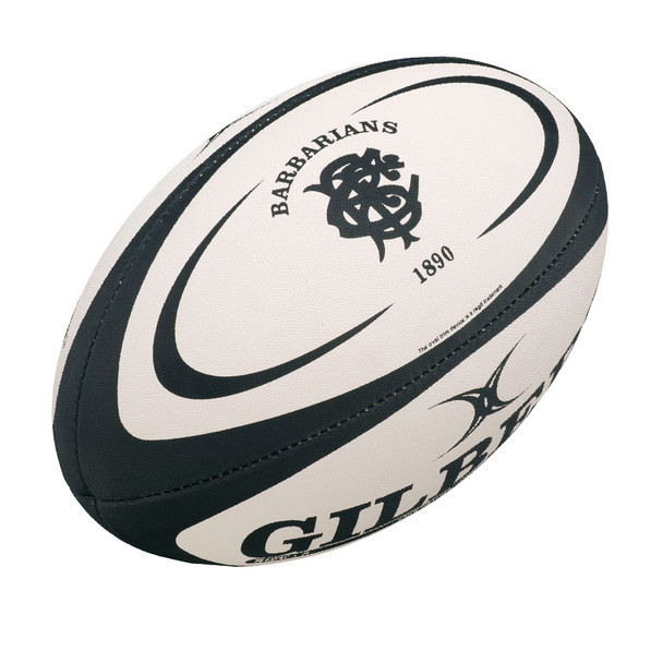 GILBERT barbarians mini rugby ball