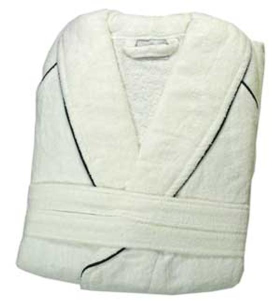 EGGCATCHER 'grumpy balls' dressing gown [white]