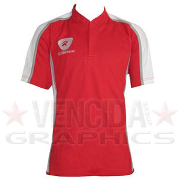 RUGBYTECH teamwear rugby match shirt [red/white]