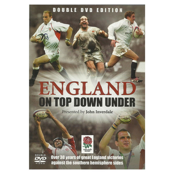 DVD england on top down under - 30 years of england victories (england rugby)