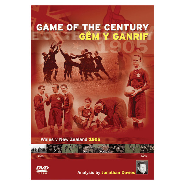 DVD game of the century - Wales v New Zealand 1905 (wales rugby)