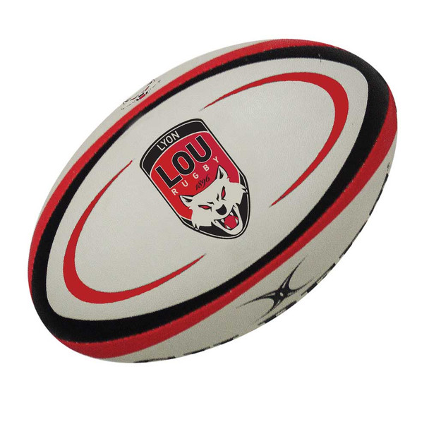GILBERT Lyon Replica Mini Rugby Ball
