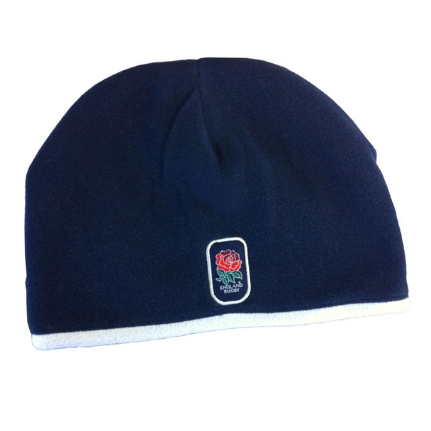 RFU england rugby fleece lined beanie hat [navy]