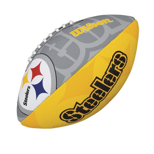WILSON pittsburgh steelers NFL logo junior size american football