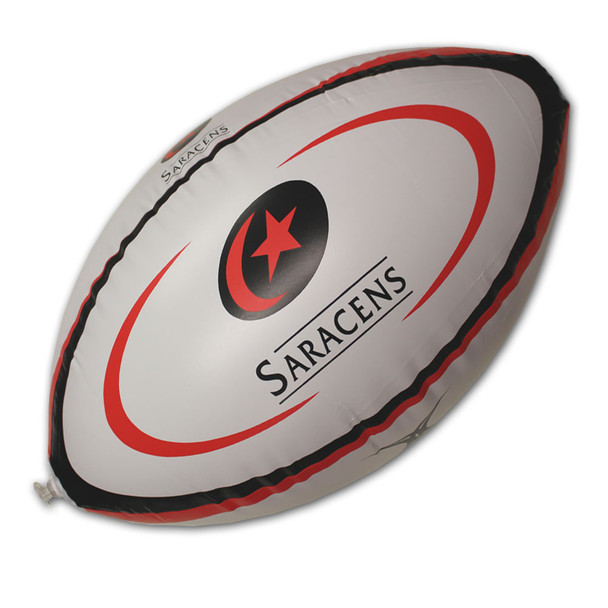 GILBERT Saracens Inflatable Rugby Ball [60cm]