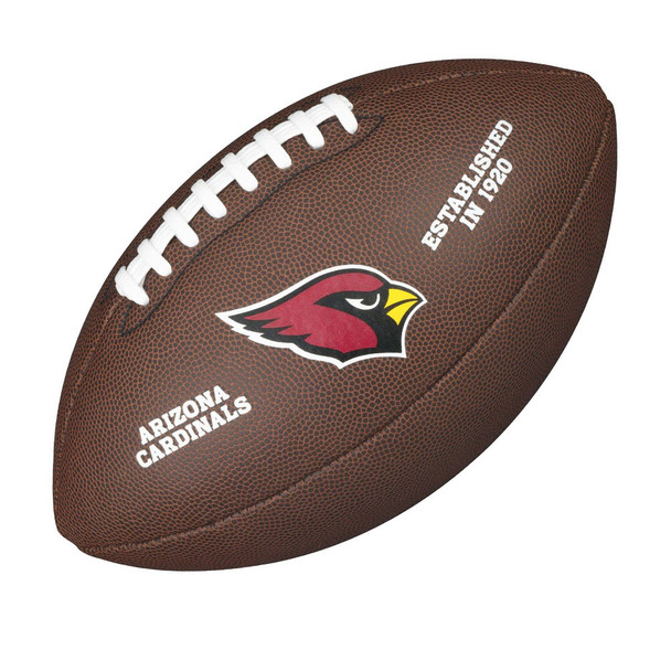 WILSON arizona cardinals NFL official senior composite american football