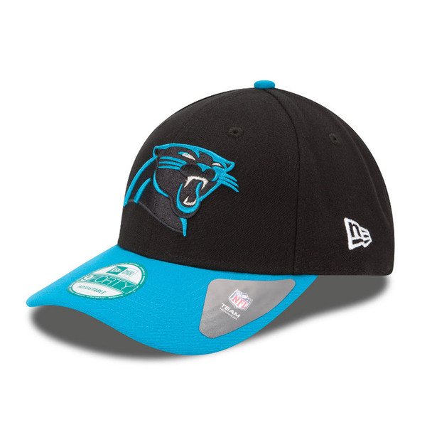 NEW ERA carolina panthers 9forty adjustable american football league cap [black]