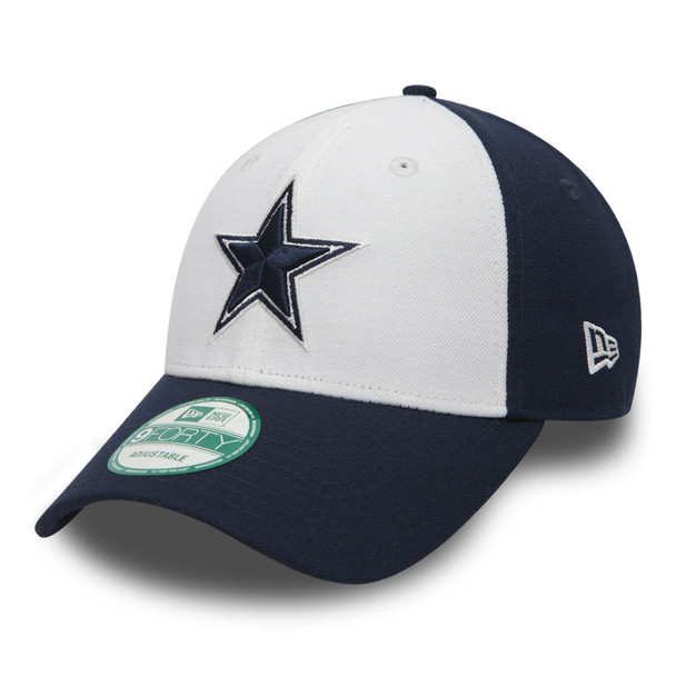 NEW ERA dallas cowboys 9forty adjustable american football league cap [navy/white]