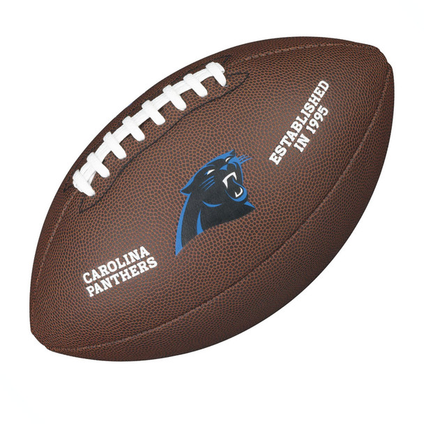 WILSON carolina panthers NFL official senior composite american football