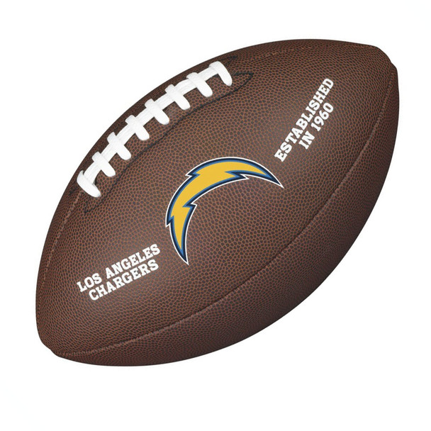 WILSON LA chargers NFL official senior composite american football