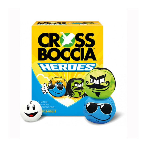 CROSSBOCCIA heroes mexican and dude set for 2 players