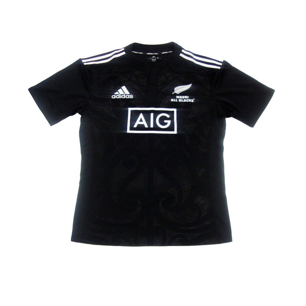 ADIDAS new zealand maori rugby shirt [black]