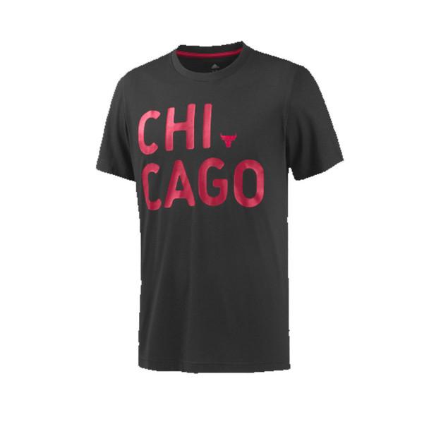 Adidas NBA Basketball Chicago Bulls T-shirt Male [black]
