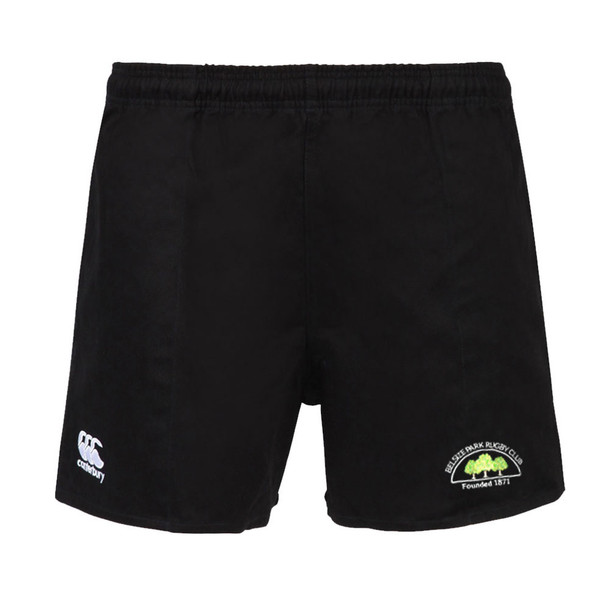 CCC rugged rugby short [black] BELSIZE PARK