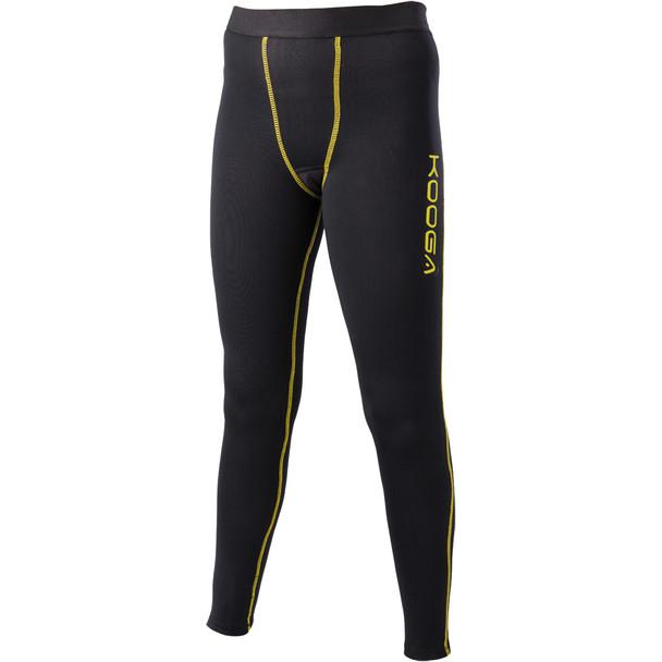 Kooga Thermal Junior Power Pant [black/yellow]