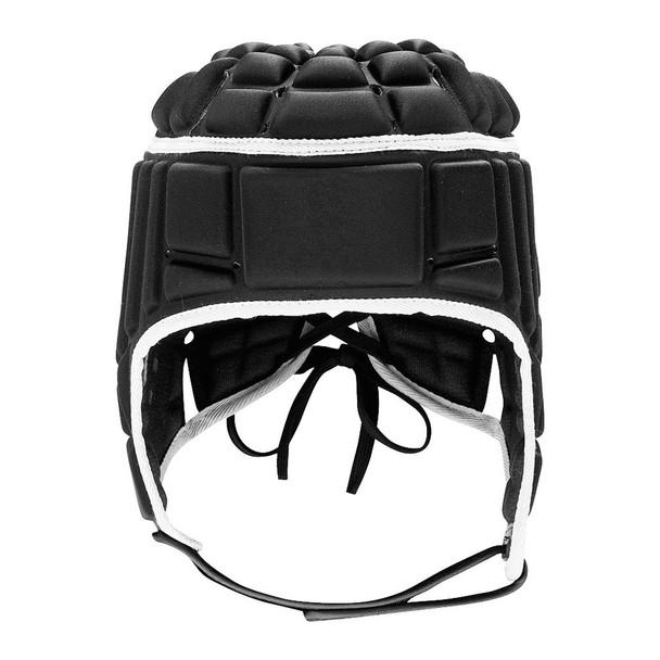 Adidas Rugby Headguard  [black/metalic]