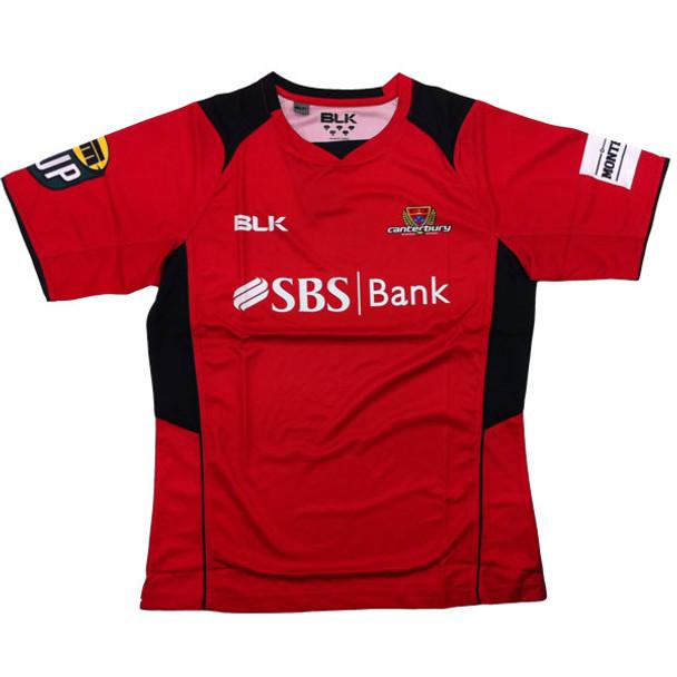 BLK canterbury RU rugby training t-shirt