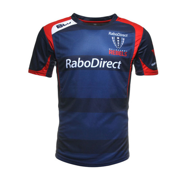 BLK melbourne rebels rugby performance training t-shirt