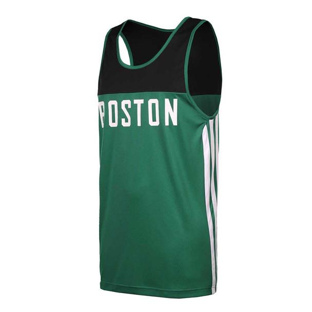 ADIDAS Boston celtics summer run basketball tank 2015 [green/black]
