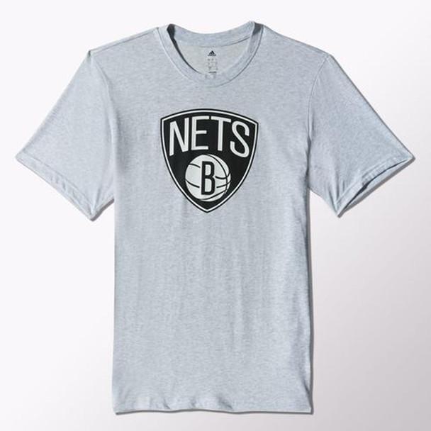 ADIDAS brooklyn nets NBA FNWR basketball t-shirt [grey]