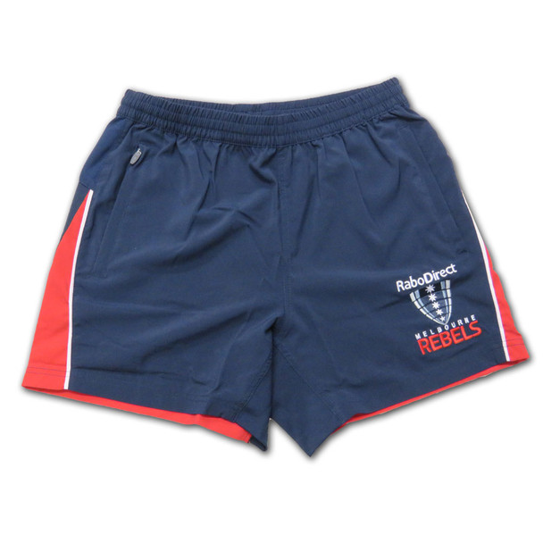 "BLK melbourne rebels 5"" gym shorts"
