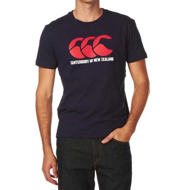 CCC logo t-shirt junior [navy]