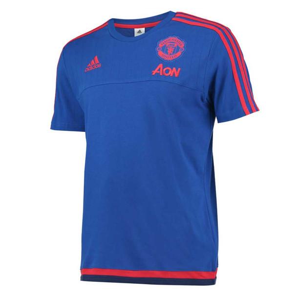 ADIDAS Manchester United Classic Design T-Shirt [blue]